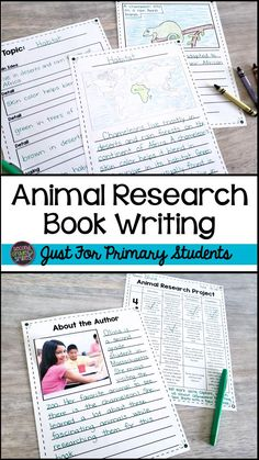 Animal Research Project Teaching Second Grade, 3rd Grade Writing, Third Grade Reading, Writing A Book, 2nd Grade Classroom, Classroom Themes, Reading Task Cards, Research Writing, Teaching Vocabulary