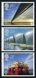 Architecture Stamps - Great Britain #1019-1021 Stamps - Europa 1983 Stamps - EU GB 1019 to 1021-1
