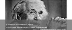 Frase da Semana: Albert Einstein - Blog do Robson dos Anjos