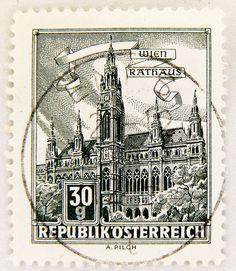 beautiful stamps Austria