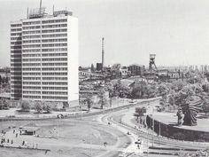 "DOKP building, ""Katowice"" coal mine, Silesian Insurgents' Monument. Katowice, Poland."