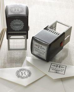 Sellos para personalizar los sobres