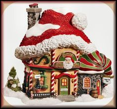 Santa's Hat Inn NEW Department Dept. 56 North Pole Village NP