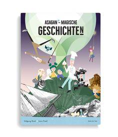 In der Welt von Asagan tummeln sich neue und bekanntgewordene Helden in Bildern, die aus 100 bis 500 Jahre alten Büchern entnommen wurden. Das schwarze Gespenst Bou, das Eischnee-Monster, das in der Backstube lebt, Nanu und Nuna und die Donaupiraten sind in den Geschichten mit den außergewöhnlichen Illustrationen verewigt. Die Schwarz-Weiss-Drucke werden mit den bunten Helden bevölkert und machen so beispielsweise den Zauberwald besonders mystisch. *** #asagan #kinderbuch #lesespass #österreich Der Ludwig, Vampire, Illustration, Movie Posters, Ghosts, Message In A Bottle, Storytelling, Magic Forest, Old Books