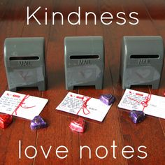 Toddler Approved!: Kindness Mailbox Love Notes
