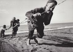 Robert Lebeck  Fischer bei Malaga  Spanien, 1964