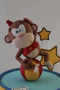 souvenirs de mono en porcelana fría - Buscar con Google