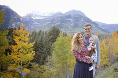 Breck Day Photography | Sundance, Utah fall photos Family | poses for 3 | love | kids | photography | Provo canyon | Utah | Sundance | fall