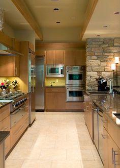 Prairie Style Interiors   Vitas Prairie-style - contemporary - kitchen - milwaukee - by Blue Hot ...