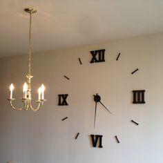 1000 images about clock ideas on pinterest homemade - Homemade wall clock designs ...