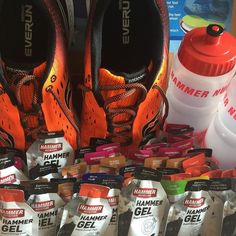 Our fuel arrived today! Time for competition!  #flensburgliebtdich #challengeherning2017 #howihammer #thepainhunter #FuelRightFeelGreat #saucony #HammerTime