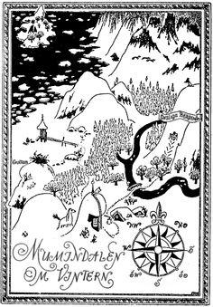 Mumindalen on vintern by Tove Jansson