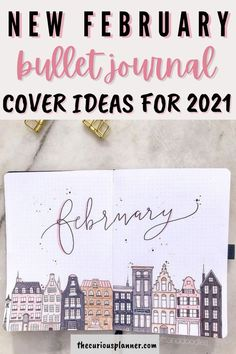 Bullet Journal Monthly Log, Bullet Journal Month Cover, February Bullet Journal, Bullet Journal Writing, Bullet Journal Inspo, Bullet Journal Spread, Bullet Journal Ideas Pages, Bullet Journal Minimalist, Bullet Journal Aesthetic