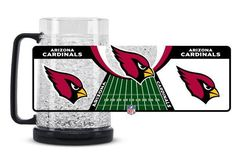 Arizona Cardinals Mug Crystal Freezer Style