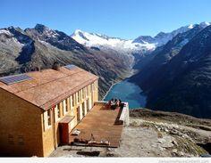 Wonderful Hike along the Schlegeis Lake in Tyrol, Austria