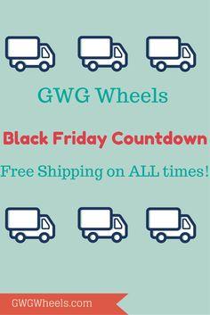 Begin the #BlackFriday countdown with GWG Wheels! #CustomWheelDesign #GWGWheels #SomethingNew #PhotoOfTheDay