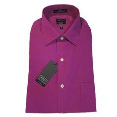 Mens Fitted Poplin Spread Collar Dress Shirt Rasberry 15 ... https://www.amazon.com/dp/B01GM75432/ref=cm_sw_r_pi_dp_79FExb91YMQ97
