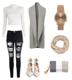 """""""Untitled #12"""" by jujujudididi-1 on Polyvore featuring A.L.C., Glamorous, Gianvito Rossi, maurices and Topshop"""