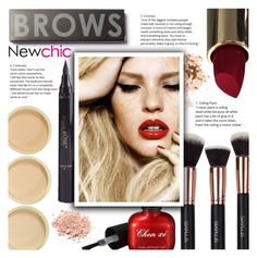"""NEWCHIC//28"" by tamarasimic ❤ liked on Polyvore featuring beauty, Bobbi Brown Cosmetics, polyvorecommunity and polyvoreeditorial"