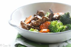 Beef and Broccoli Stir-Fry - Deliciously Organic