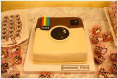 instagram cake!   amazing idea!
