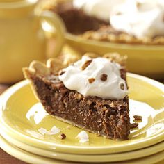 German Chocolate Cream Pie...Ive won quite a few awards in recipe contests over the past 10 years and am delighted that this luscious pie sent me to the Great American Pie Show finals. Marie Rizzio, Interlochen, Michigan