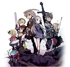 ATLUS and FuRyu proudly present The Legend of Legacy, a new RPG coming Fall 2015 to Nintendo 3DS!