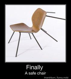 Yup, good chair