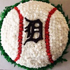 Detroit tigers cake for my BIL