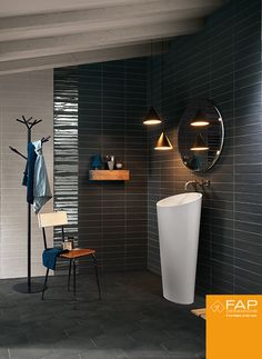 1000 images about smooth bricks inspiration by fap ceramiche on pinterest boston wall tiles. Black Bedroom Furniture Sets. Home Design Ideas