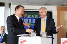 Utrikesminister Carl Bildt har varit med i flera program.