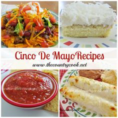 15 Recipes for Cinco De Mayo