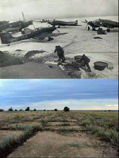 Then & Now Tatsinskaya Airfield Stalingrad
