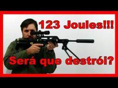Carabina .22 Caçadora de 123 Joules,  vai encarar???🔫😉