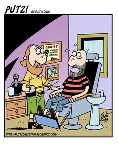 Putz! (Day of dentist!/ Día del dentista! /Jour de dentiste!/ Tag der Zahnarzt!) on Gocomics.com
