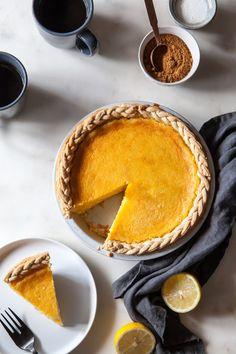Lemon Chess Pie - Style Sweet CA