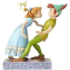Jim Shore Disney Traditions by Enesco Peter Pan, Wendy and Tinker ...
