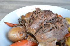 Beer Braised Chuck Roast with Balsamic