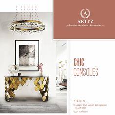 Modern-day aesthetics meet sturdy construction. Find beautiful iconic pieces for home decor at ARTYZ!  #designertables #luxuryfurniture #interiors #interiordesign #centertable #homedecor