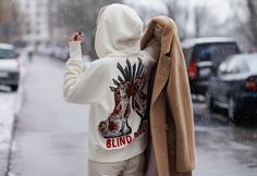 ph Radek Świątkowski shoes Top Shop / pants H&M / glasses Armani / hoodie Gucci / coat Aryton Unique Hoodies, Needlework, Gucci, Graphic Sweatshirt, Sweatshirts, Sweaters, Shoes, Fashion, Embroidery