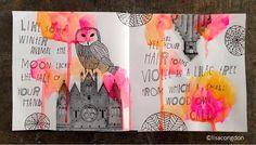 Owl   Lisa Congdon   image transfer