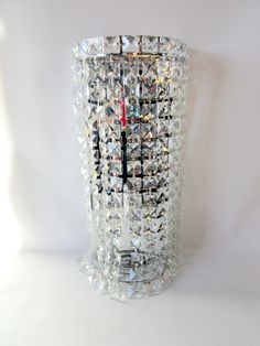 Wall Sconce, Chrome Base & Crystals - Warner Bros. Property Department