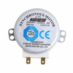220-240V 4W Synchronous Motor for Air Blower TYJ50-8A7 Microwave Oven Tray Motor #Affiliate