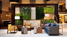 The Westin Washington, DC City Center - Hotel lobby - Aida Deda - Interior Design Classes, Office Interior Design, Office Interiors, Showroom Design, Lounge Design, Lobby Lounge, Hotel Lobby, Dental Office Design, Lobby Design