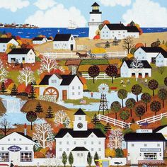 Jane Wooster Scott - similar to Charles Wysocki Art