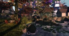 Fantasy Faire 2014 - Medhir Woods Largest Waterfall, Autumn Forest, Woods, Fantasy, Explore, Nature, Painting, Art, Art Background