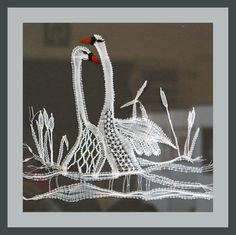 Bobbin Lace Patterns, Crochet Flower Patterns, Crochet Flowers, Lace Art, Lacemaking, Needle Lace, Crochet Home, Simple Art, String Art
