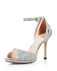 068557c99eb kate spade new york Women s Franklin Glitter Platform High Heel Sandals  Shoes - Bloomingdale s
