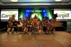 African Tribal Show African Theme
