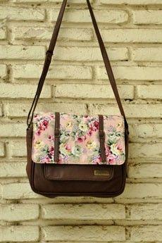Floral Bloom Messenger Bag